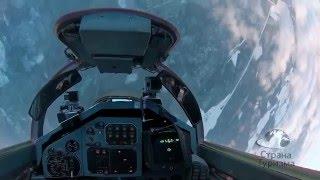 Невероятный полет красавицы из России на истребителе Миг 29!(Захватывающий полет на истребителе Миг-29 в Стратосферу, и высший пилотаж над Землей! Такой подарок подарил..., 2016-01-28T22:38:48.000Z)
