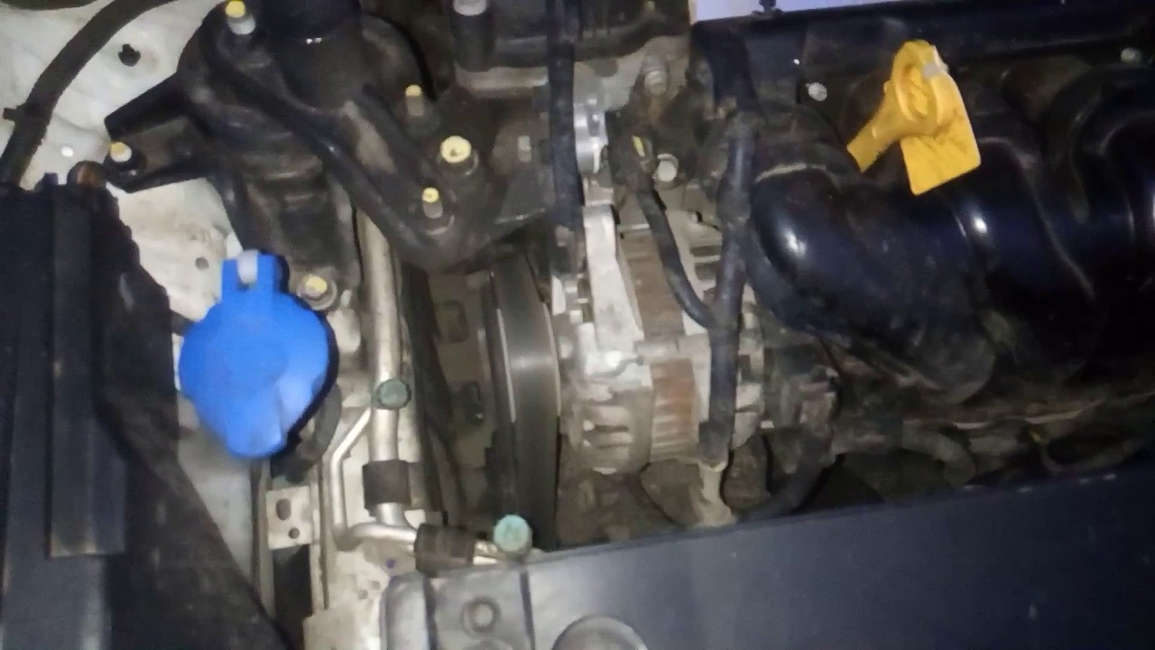 Работа холодного двигателя KIA RIO 3. в - 25