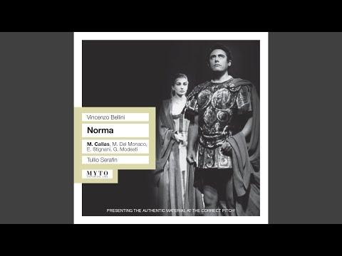 Norma: Act I Scene 1: Norma viene: Le cinge la chioma (Chorus)