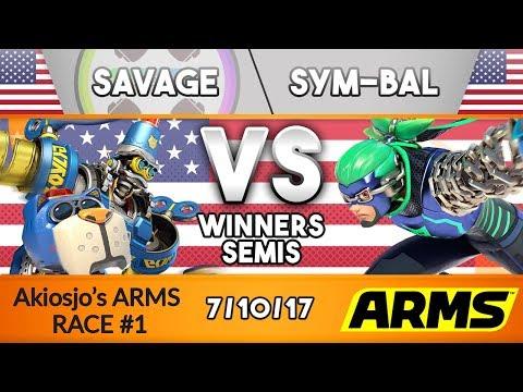 AAR Winner's Semi's: TCM | Savage (Byte and Barq) vs. Sym-Bal (Ninjara)