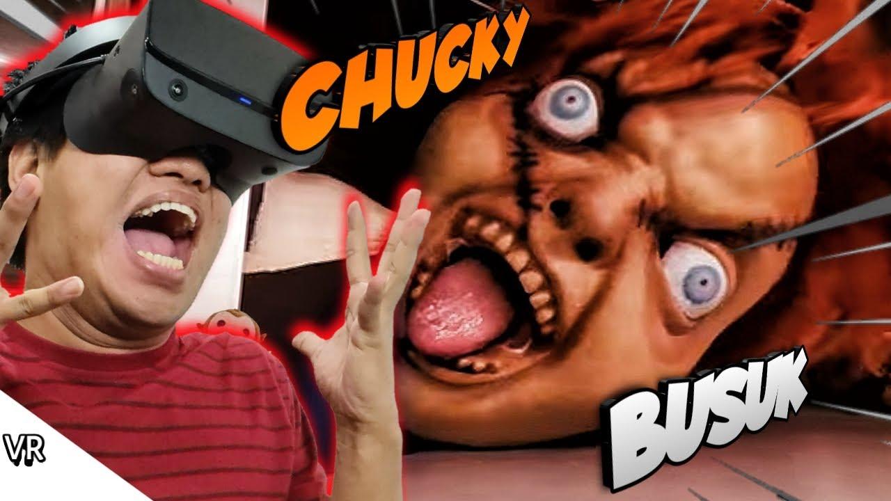 ASEMMM CHUCKYNYA SEREM BANGET PARAH!!!! 360 Reaction VR [SUB INDO] ~Chucky, SCP096, Cartoon Cat!!