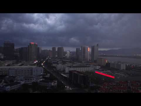 Thunderstorm in Fuzhou-China 2017 (HQ)