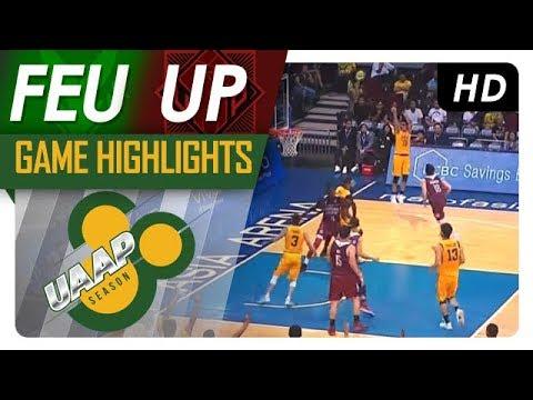 FEU vs. UP | Game Highlights | UAAP Season 80 Men's Basketball | Oct. 29, 2017