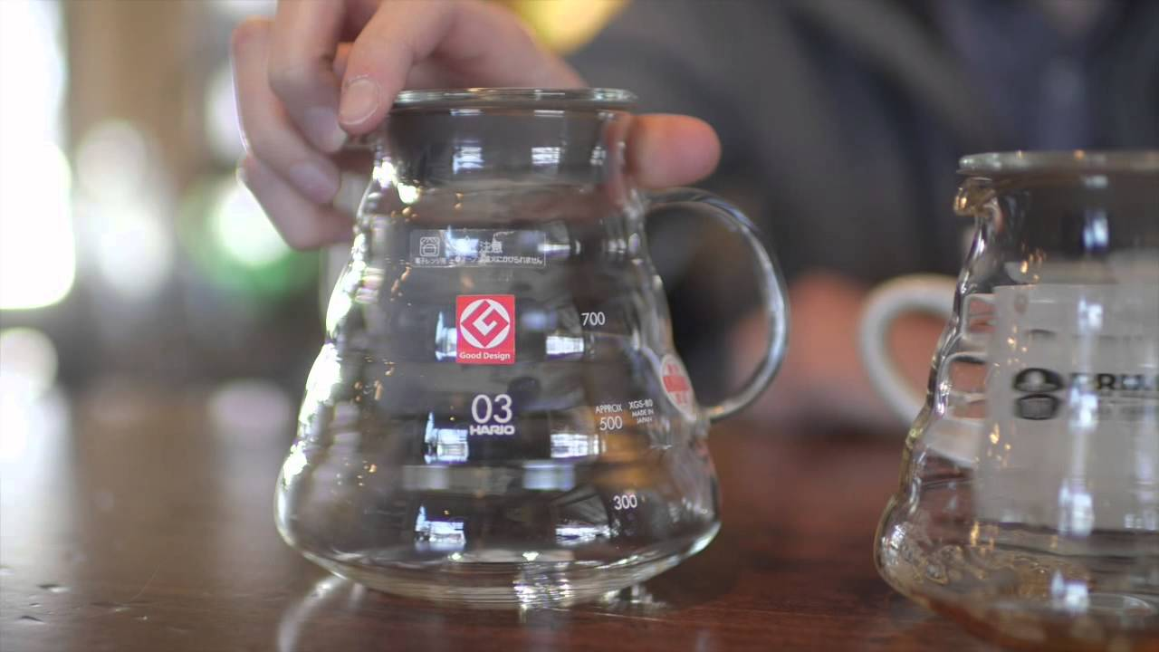 Hario V60 Range Server Overview Youtube