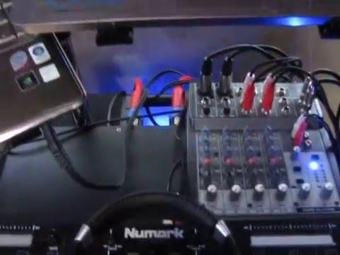 My DJ / Karaoke setup is almost finished