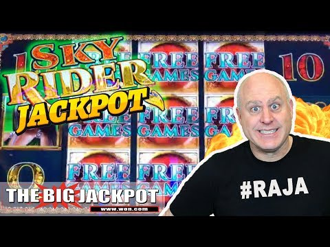💥BIG WIN! 💥Sky Rider 12 Free Games Jackpot BONUS!  | The Big Jackpot