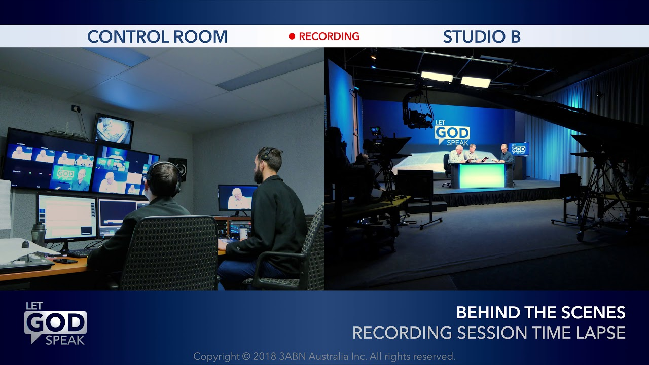 Let God Speak - Recording Session Time Lapse