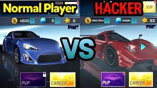 NORMAL PLAYER VS HACKER - Street Racing 3D  | Racing Android Game screenshot 1