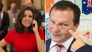 Veep Episode Is So Funny Australian Politician Almost Chokes And Dies Laughing - TomoNews