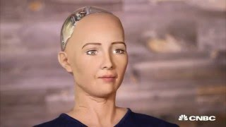 Holy Crap this Robot glitches and says it will kill all humans on live TV | 9Buzz