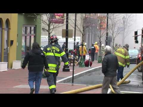 Working Commercial/Residential Building Fire - Wilmington, DE - March 26, 2017