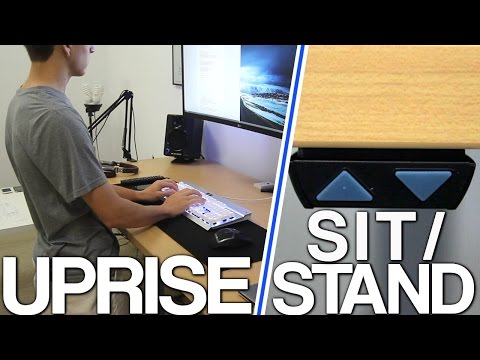 uprise-electric-desk-review---sit/stand-desks-are-amazing!