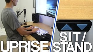 Uprise Electric Desk Review - Sit/Stand Desks are AMAZING!