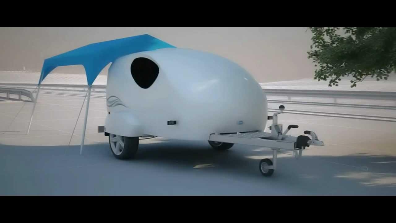 splash der mini wohnwagen der zukunft pr sentiert von camp runner europe youtube. Black Bedroom Furniture Sets. Home Design Ideas