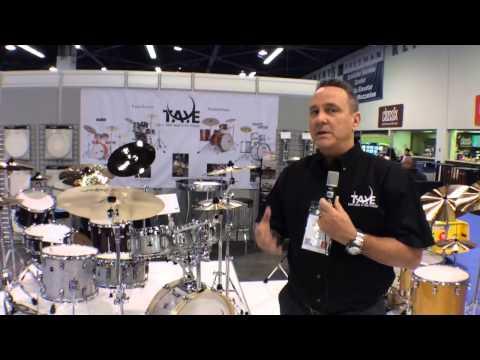 2014 Winter NAMM Taye Drums