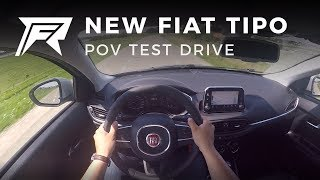 2017 Fiat Tipo 1.4 T-Jet - POV Test Drive (no talking, pure driving)