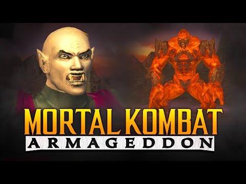 "THE VAMPIRE NINJA! - MK Armageddon: ""Kreate a Fighter"" Arcade Ladder! (Road to Mortal Kombat 11) thumbnail"