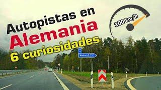Autopista en Alemania - 6 curiosidades - ir a 200 km/h y sin peaje??
