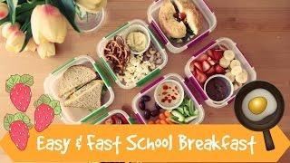 أفكار سريعة وسهلة لفطور الدوام ( مدرسة + جامعة ) بالتعاون مع Matbakh Bassoum - شيوكا