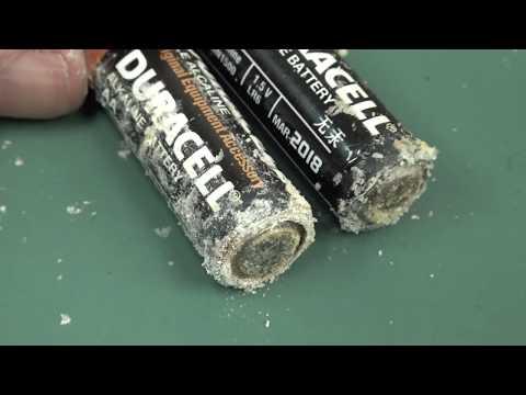 Alkaline Battery Leakage Testing - Part 1