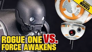 Is ROGUE ONE Better Than THE FORCE AWAKENS?
