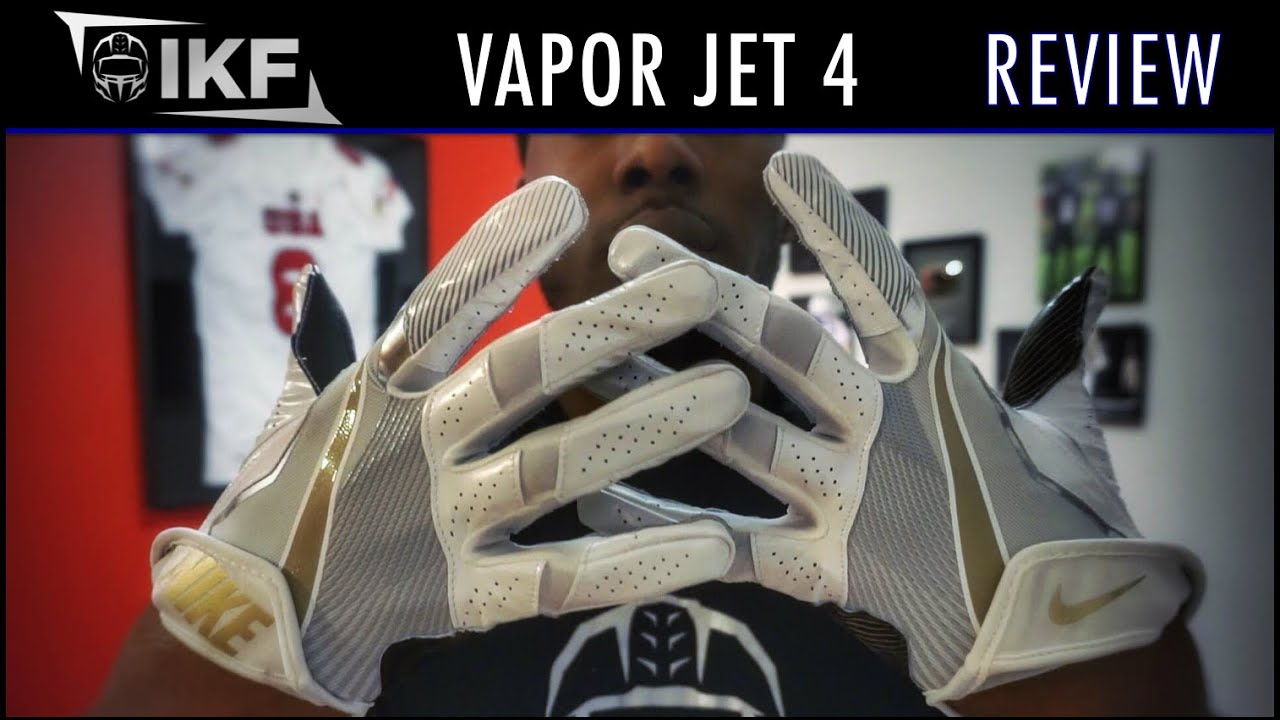 nike vapor vapor jet 4 football gloves review ep 293 youtube