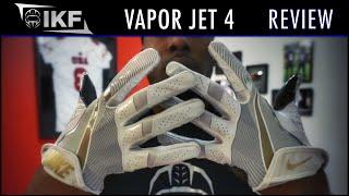 Nike Vapor Vapor Jet 4 Football Gloves Review - Ep. 293