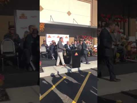 The grand opening of ShopRite in Cortlandt.