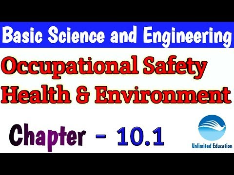 Occupational Safety Health & Environment for ALP CBT2 | Chapter- 10.1| Basic Science and Engineering
