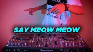 Download Lagu LEARN TO MEOW REMIX ! SAY MEOW MEOW ( DJ DESA Remix ) mp3