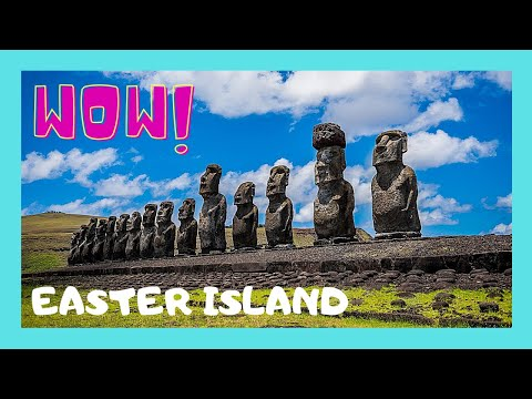 EASTER ISLAND, the TONGAN (Langi) Pyramids and platforms for the Moai (statues)