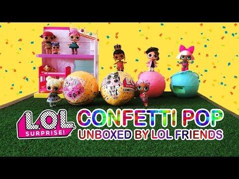 L.O.L. Surprise Confetti Pop Unboxed by LOL Friends in Malaysia
