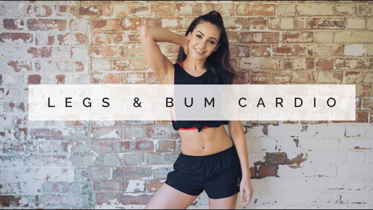 DANCE CARDIO FOR LEGS & BUM   Danielle Peazer - YouTube