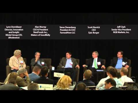 Trends Creating Opportunities in the Food Industry Panel