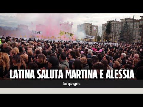 """Latina, malumori ai funerali delle sorelline uccise dal papà: """"Preghiamo anche per il carabiniere"""""""