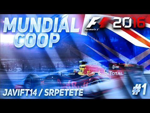 """Youtubulls"" F1 2016 con Javift14 | GP AUSTRALIA #01 | SrPetete"