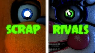 """FNAF SONG: """"Scrap Rivals"""" (Five Night at Freddy's Animation)"""