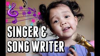 3 YEAR OLD SINGER AND SONG WRITER! -  ItsJudysLife Vlogs