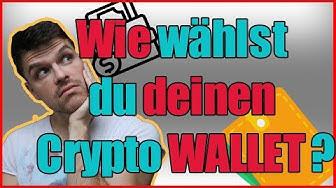 Welchen Wallet soll ich nutzen?! WO kann ich meine Bitcoins & Altcoins SICHER bunkern?