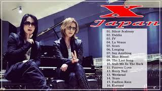 X Japan Greatest Hits Full Album 2020❤️ ❤️ Xジャパンの最高の曲 ♪ღ♫♪ღ♫