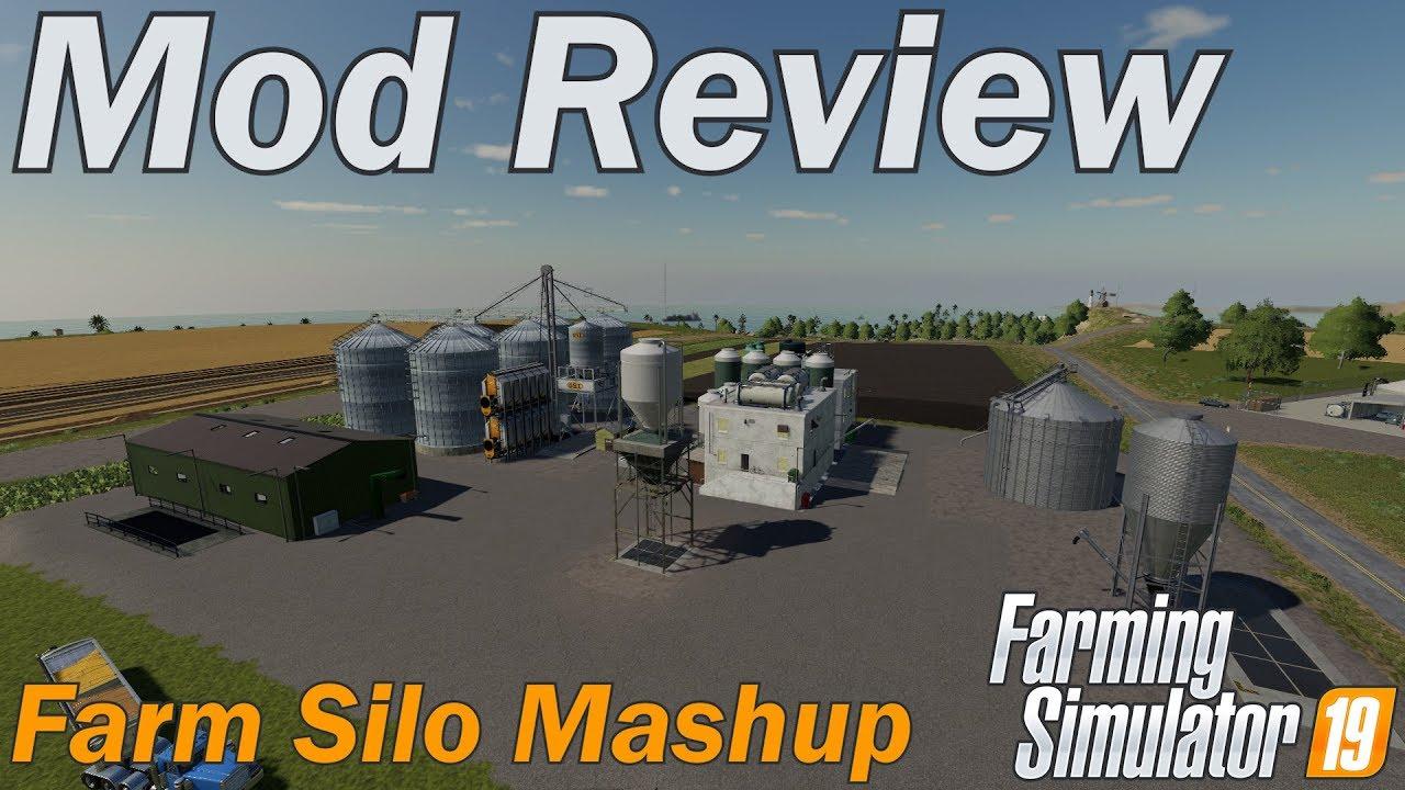 Farming Simulator 19 - Mod Review - Farm Silo Mashup