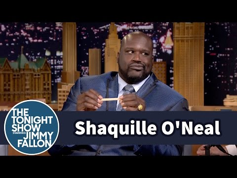 Shaqsticles with Shaquille O