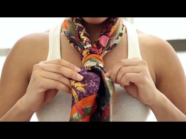 242a367a76cf Comment nouer un foulard - blog mode Paris Soyons élégantes