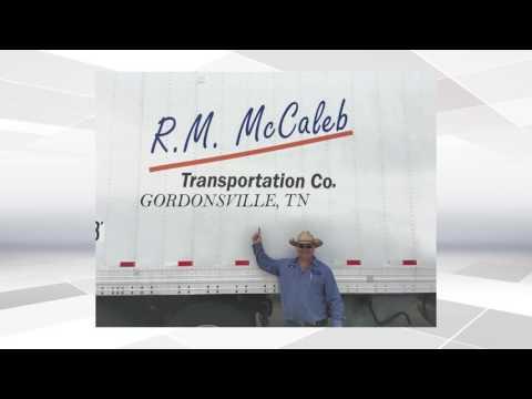 R.M. McCaleb Transportation Ad - Gordonsville, TN