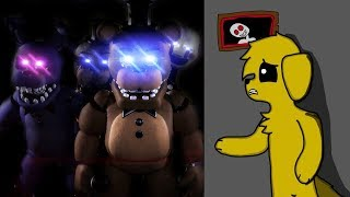 50 ANIMATR NICOS VS MIKECRACK  RETO FIVE NIGHTS AT FREDDY S ULTIMATE CUSTOM NIGHT 50 20
