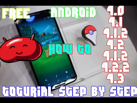 Pokemon Go ANDROID 4.0, 4.1, 4.2, 4.3 HOW TO INSTALL JELLY BEAN KITKAT AND BELOW(NOT WORKING ANYMORE