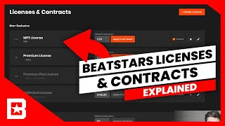 How To Create Licenses & Contracts On BeatStars