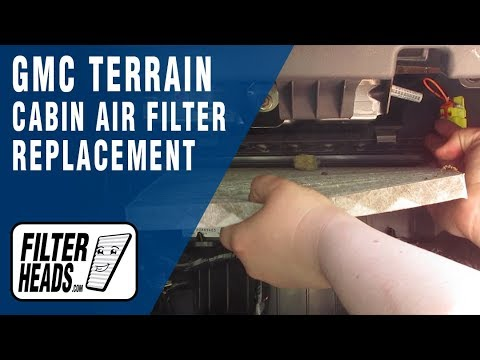 How To Replace Cabin Air Filter 2010 Gmc Terrain Youtube
