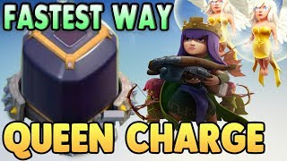 BEST Town Hall 9 ( TH9 ) Dark Elixir Farming ( Loot ) Strategy 2017 | Queen Charge | Clash Of Clans