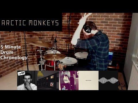 Arctic Monkeys - 5 Minute Drum Chronology - by Jamie Warren